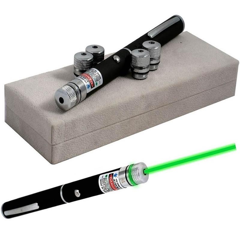 Laser verde 100 mW, 5 capete