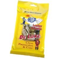 Lavete umede pentru tapiterie din piele Help, 10 buc