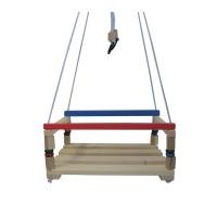 Leagan pentru copii, 36 x 26 x 7 cm, lemn, 3 ani+