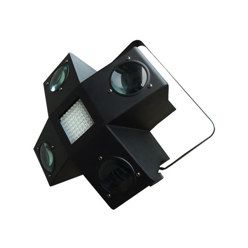 Led light cu stroboscop, 256 LED-uri colorate, 4 canale DMX
