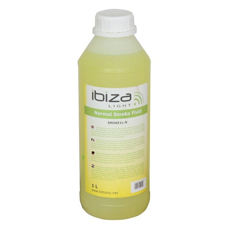 Lichid Ibiza pentru masina de fum, 1 l, galben 2021 shopu.ro