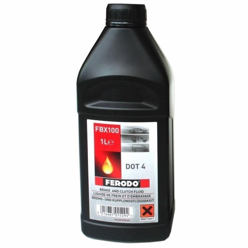 Lichid de frana DOT 4 Ferodo, 1 l 2021 shopu.ro