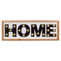Litere decorative, 20 x LED, 50 x 18 cm, mesaj Home