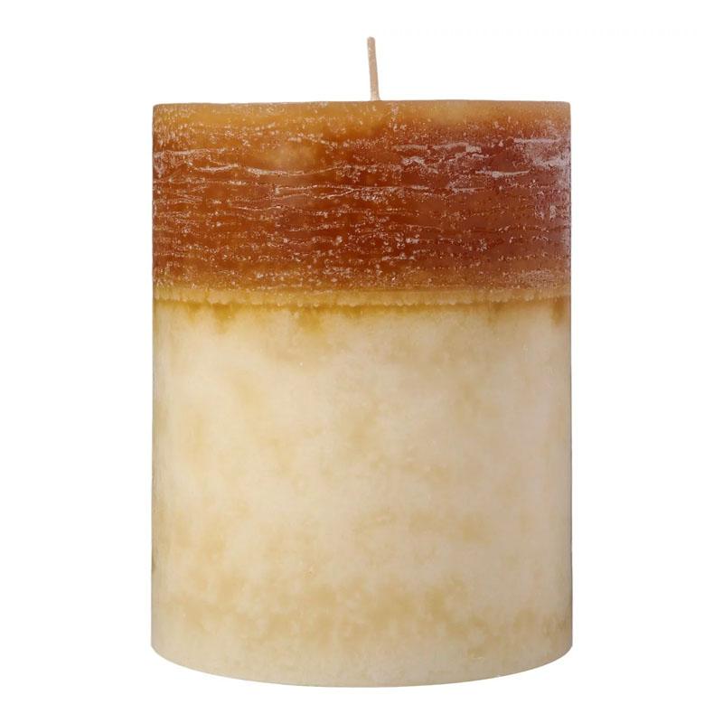 Lumanare Collie Caramel Ivory Bej, 13 x 10 cm, 850 grame 2021 shopu.ro