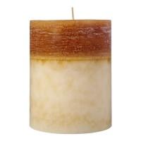 Lumanare Collie Caramel Ivory Bej, 13 x 10 cm, 850 grame