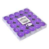 Lumanari Rees Purple Flower, 25 bucati