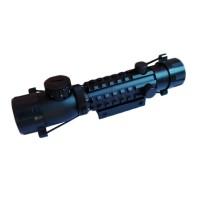 Luneta pentru arma Riflescope, 2-4x28GD, corp aluminiu