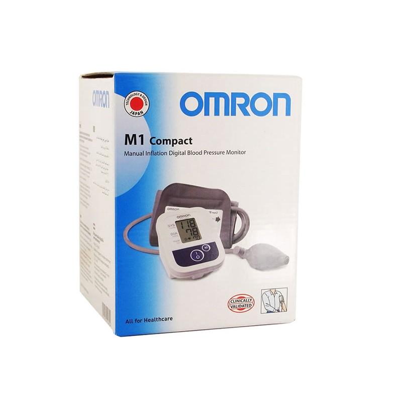 Tensiometru semiautomat de brat Omron M1 Compact, 14 memorii