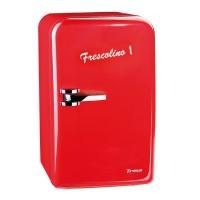Mini frigider Frescolino Trisa, 17 l, 50 W, Rosu
