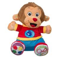 Maimuta interactiva Monkey, 9 activitati, 2 x AA, 18 luni+