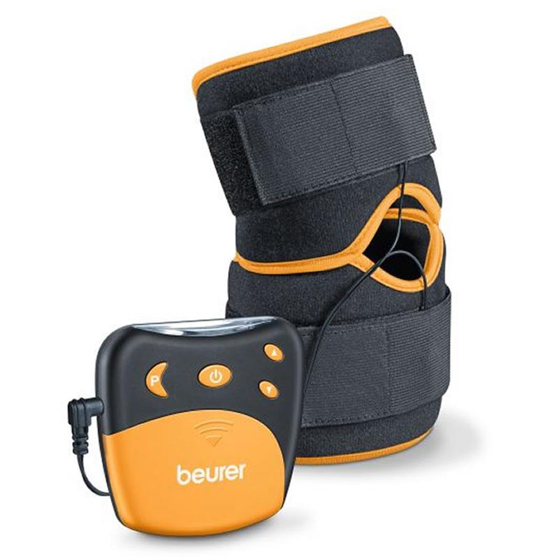 Manseta genunchi si coate TENS EM29, 2 electrozi, LCD, marime universala 2021 shopu.ro