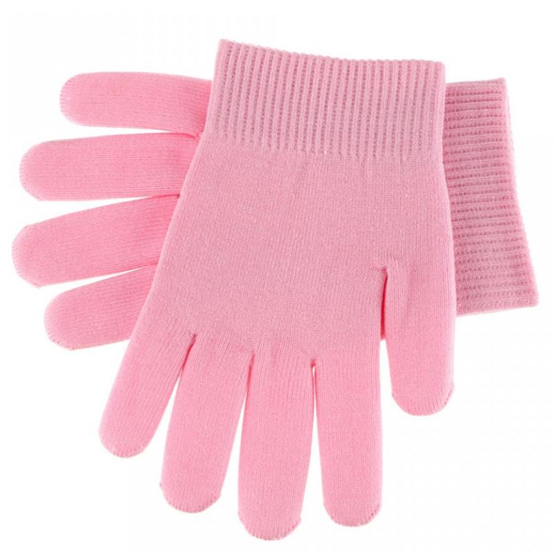 Manusi SPA cu gel pentru tratament maini, roz 2021 shopu.ro