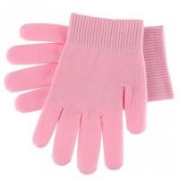 Manusi SPA cu gel pentru tratament maini, roz
