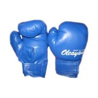 Manusi de box pentru copii Oleayang, 4 Oz, piele sintetica, Albastru