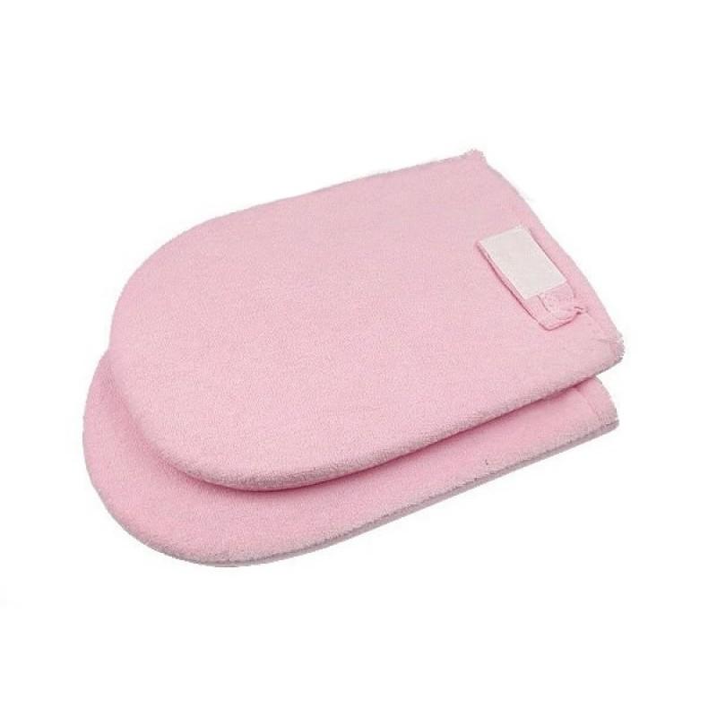 Manusi pentru tratamente cu parafina, roz