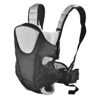 Marsupiu 3 in 1 pentru copii Baby Carrier, 12 kg, Negru/Gri