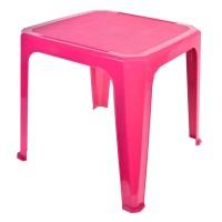 Masa din plastic pentru copii, 42 x 42 x 44 cm, Fuchsia
