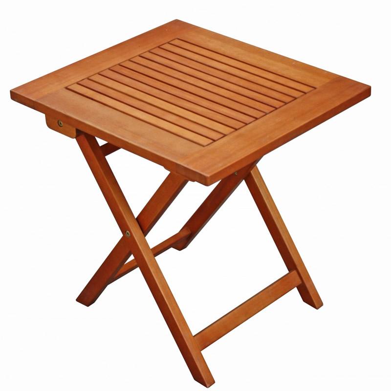 Masa fixa pentru gradina TF268, lemn, dreptunghiulara, 4 persoane, 48 x 43 x 47 cm shopu.ro
