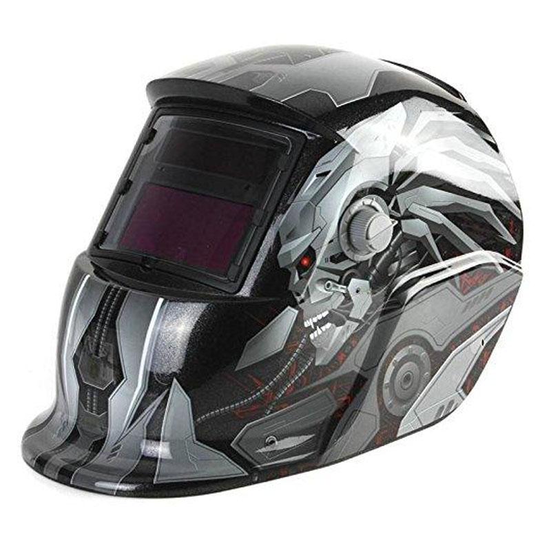 Masca de sudura cu cristale lichide Intensiv Transformers 9-13, DIN 16, protectie UV/IR, vizor 92 x 42 mm, incarcare solara shopu.ro
