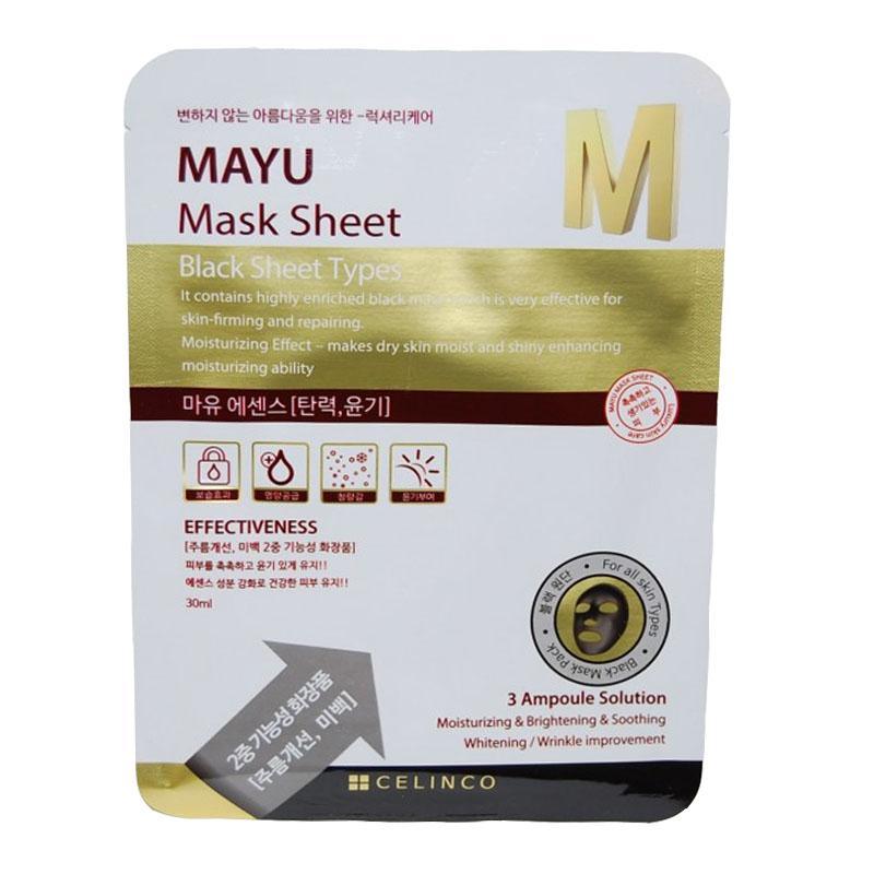 Masca faciala neagra Mayu M Celinco, 30 ml 2021 shopu.ro