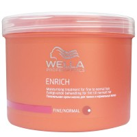 Masca pentru par Wella Enrich Normal, 500 ml