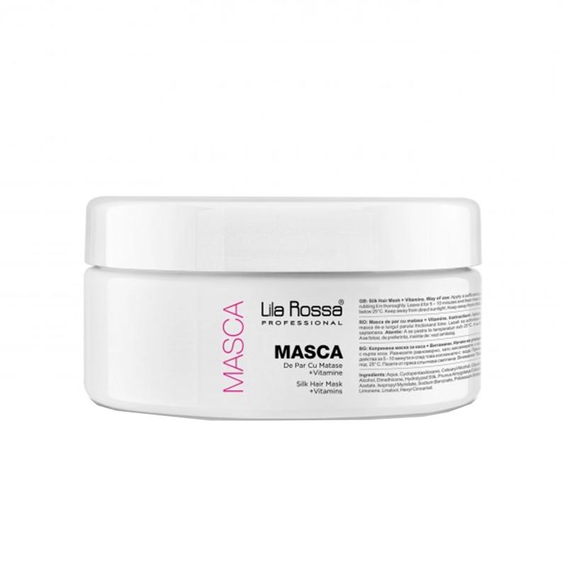 Masca de par Lila Rossa, 300 ml, vitamine/matase 2021 shopu.ro