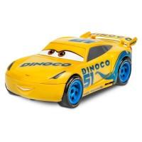 Masina Cars Cruz Ramirez, scara 1:21, 27 x 10 x 19 cm, galben