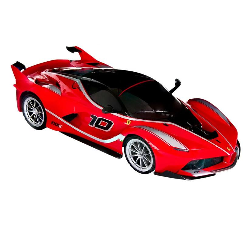 Masina Ferrari Fxxk, telecomanda, scara 1:12, rosu 2021 shopu.ro
