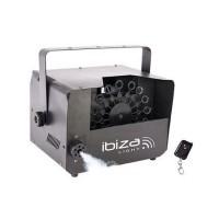 Masina Ibiza pentru ceata si bule, putere 400 W, control automat sau telecomanda