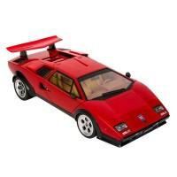 Masina Lamborghini Wolf Countach LP500S, scara 1:14, Rosu