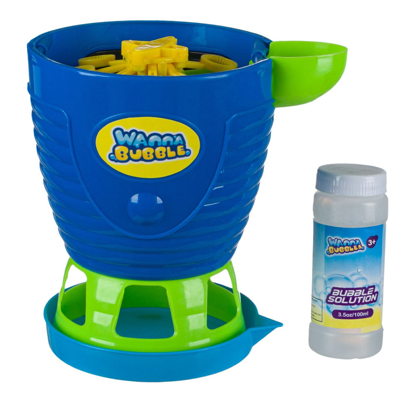 Masina baloane pentru copii Wanna Bubble, 100 ml, solutie inclusa, 3 ani+ 2021 shopu.ro