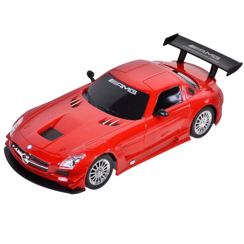 Masina cu telecomanda Mercedes AMG GT3, rosu 2021 shopu.ro