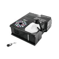 Masina de fum vertical NSF-350, 1580 W, iluminare LED RGB, control DMX