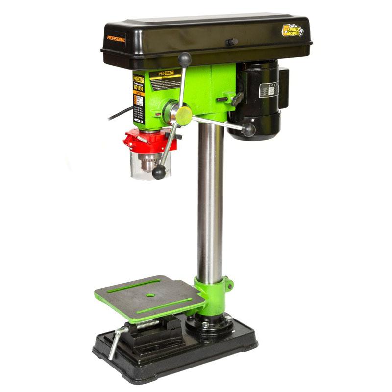 Masina de gaurit de banc ProCraft BD1850, 1850 W, 3140 rpm, 5 viteze, mandrina 16 mm