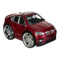 Masina de jucarie Red A6, 13.5 x 7 x 6 cm, 3 ani+