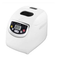 Masina de paine Hausberg, 600 W, 1000 g, 19 programe, 85 dB, ecran LCD, motor cupru, Alb