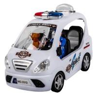 Masina de politie, 17 x 8 x 11 cm, 3 ani+