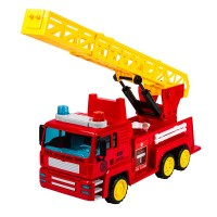 Masina de pompieri Fire Truck Ladder, 3 ani+