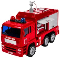 Masina de pompieri Fire Truck Shoot Water, sunete si lumini