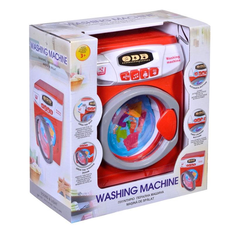 Masina de spalat pentru copii cu sunet si lumina, 17 x 11 x 22 cm 2021 shopu.ro