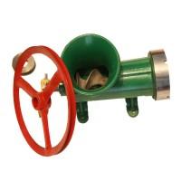 Masina de tocat cu rulment Craft Tec, capacitate 7.5 kg, numarul 32, fonta, Verde