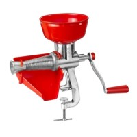 Masina manuala de tocat rosii, sita inox, corp tabla/aluminiu