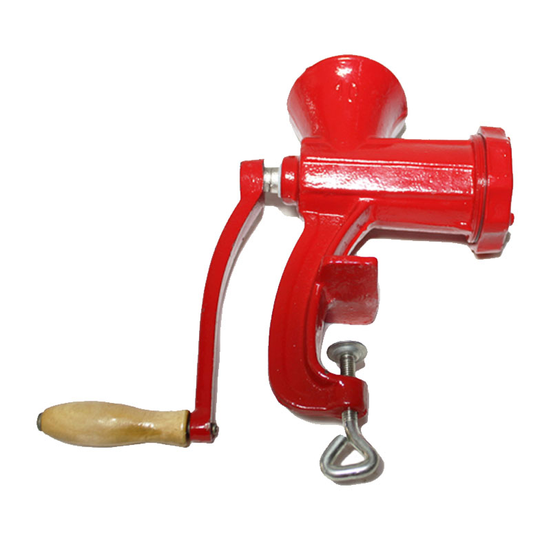 Masina manuala de tocat carne Micul Fermier, nr. 10, fonta 2021 shopu.ro