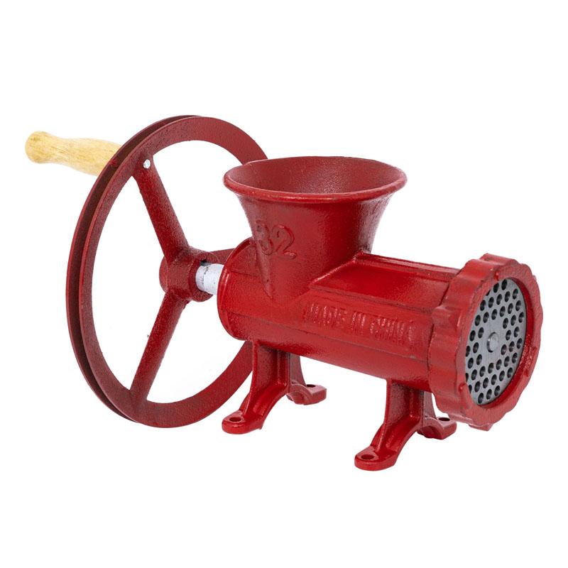 Masina manuala de tocat carne Micul Fermier, nr. 32, fonta, cutit cu 4 lame 2021 shopu.ro