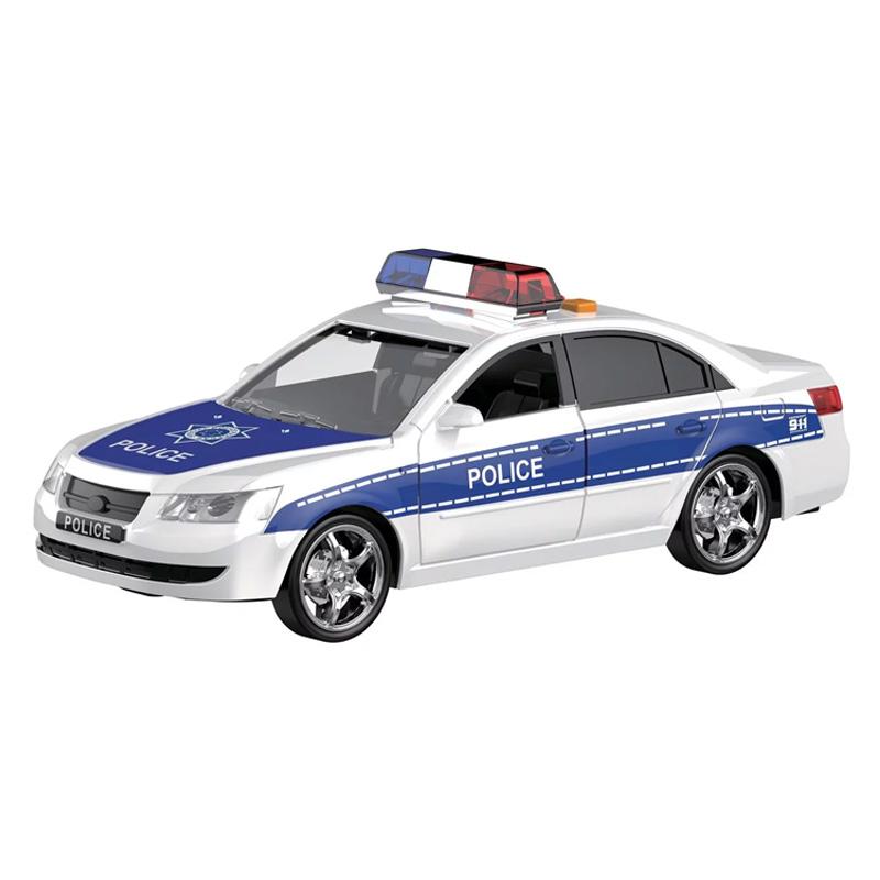 Masina politie Rescue, scara 1:16, sunet si lumini 2021 shopu.ro