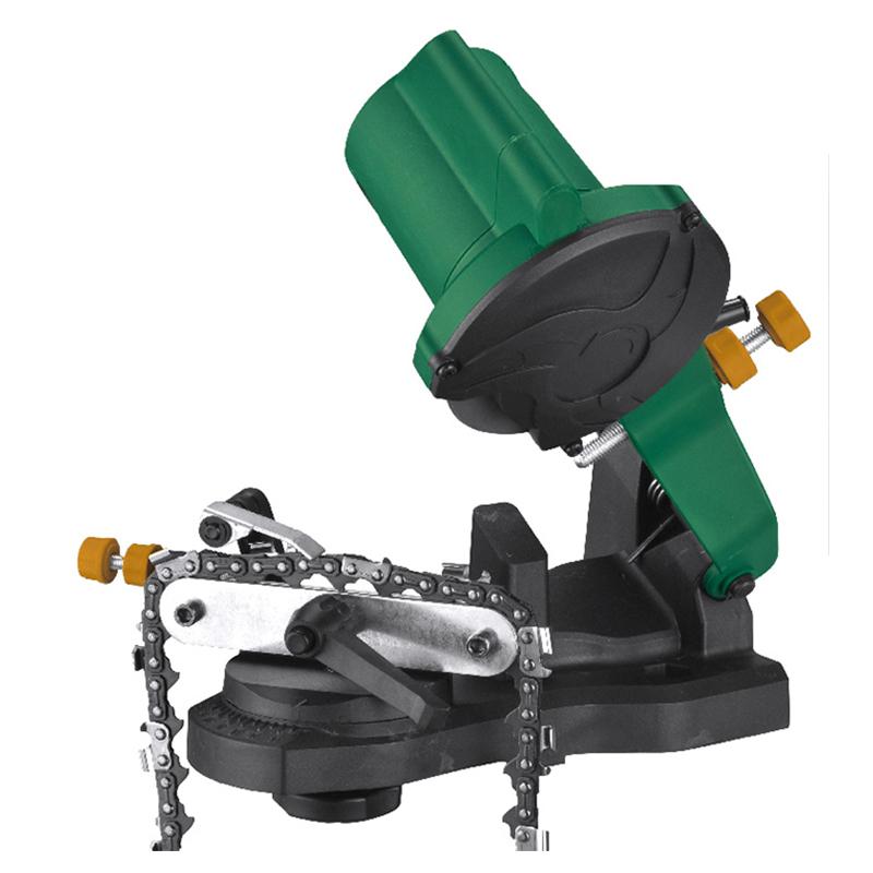 Masina de ascutit lant drujba, 85 W, 104 x 22.2 x 3.2 mm, plastic, perie carbon, Verde/Negru shopu.ro