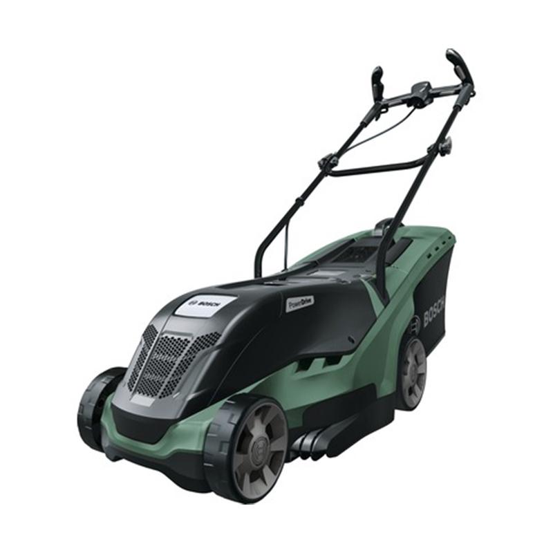 Masina de tuns iarba Bosch, 1300 W, 40 l, 36 cm, electrica, plastic, Negru/Turcoaz 2021 shopu.ro