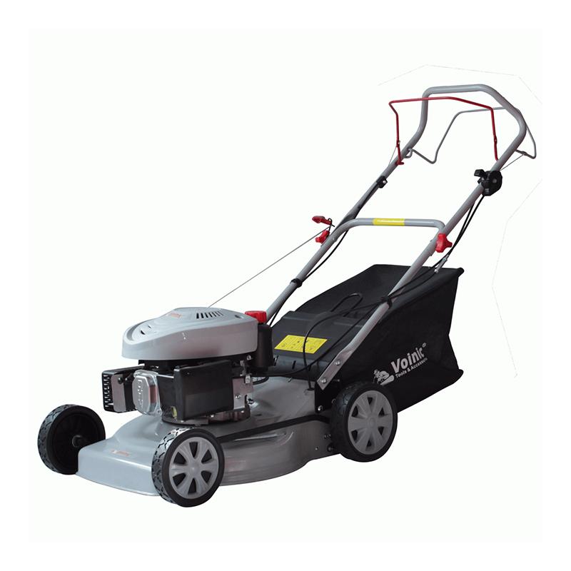 Masina de tuns iarba Voinic, 2300 W, 2850 rpm, 135 cc, 3.2 CP, 55 l, 46 cm, benzina, autopropulsie 2021 shopu.ro