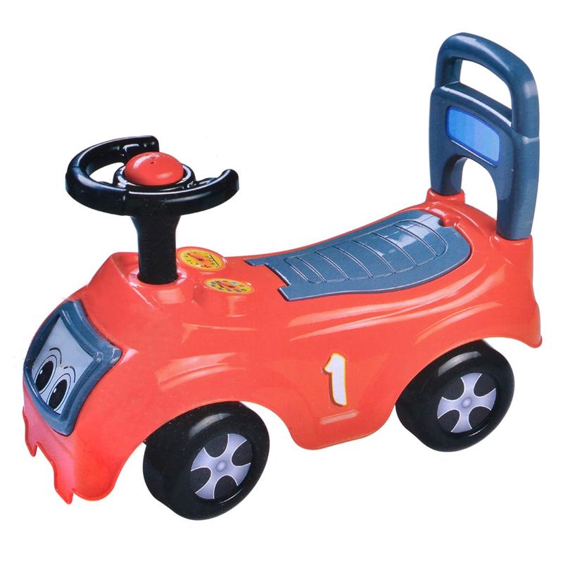 Masinuta cu volan pentru copii, plastic, Rosu 2021 shopu.ro