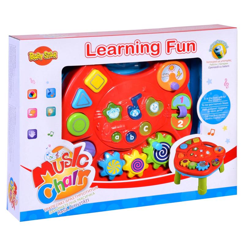 Masuta interactiva Learning Fun, sunete si lumini 2021 shopu.ro